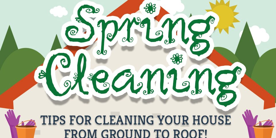 infographic: spring cleaning tips and tricks - the tidy maids