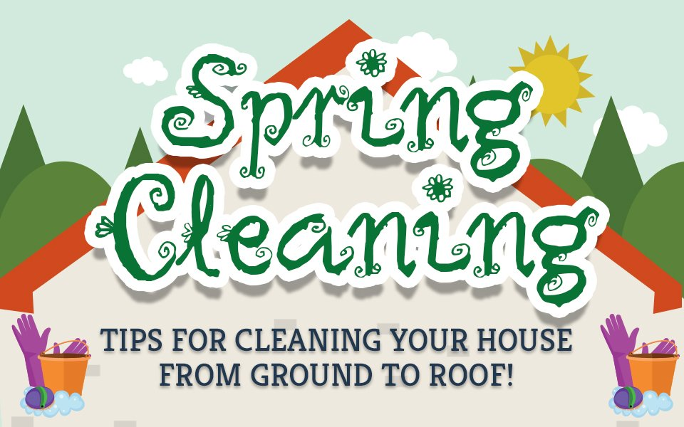 Infographic Spring Cleaning Tips And Tricks The Tidy Maids