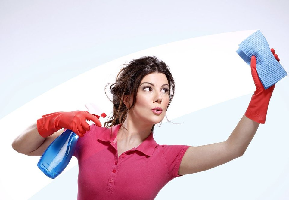 SuperWoman House Cleaning
